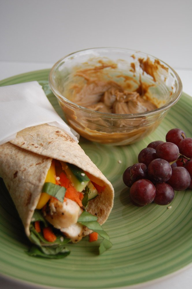 Thai Chicken Wraps - Food Lovin Family
