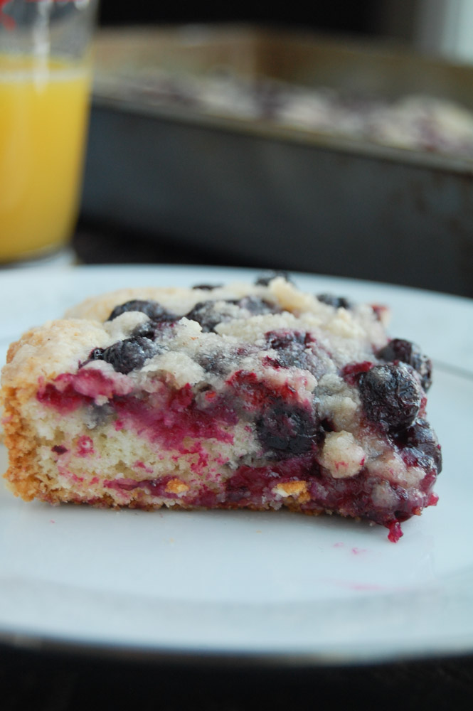 Blueberry Buckle - Food Lovin Family