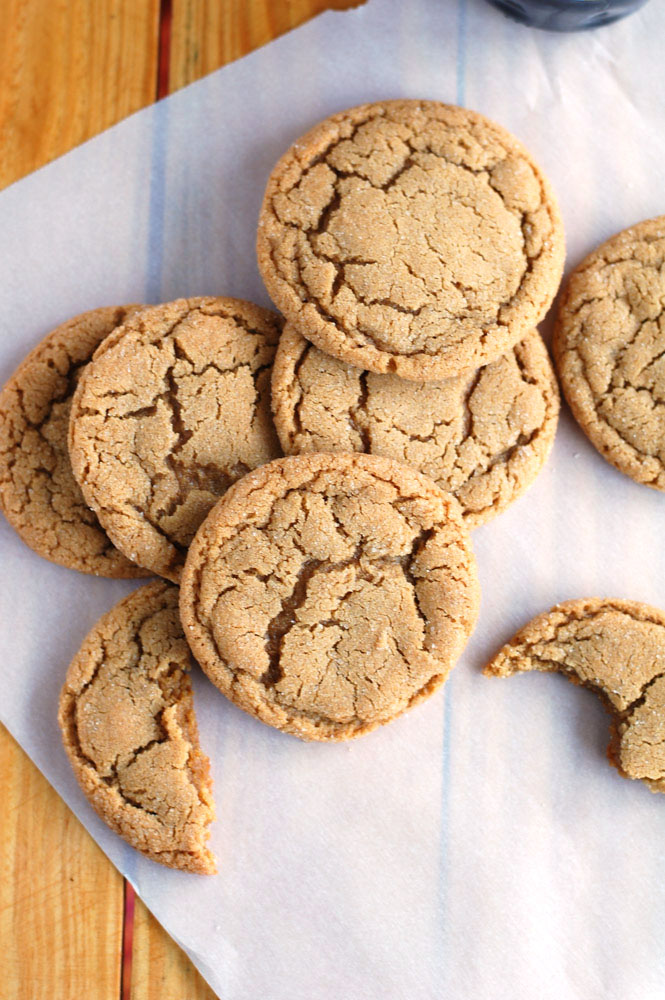 The Best Big Soft Ginger Cookies - Food Lovin Family