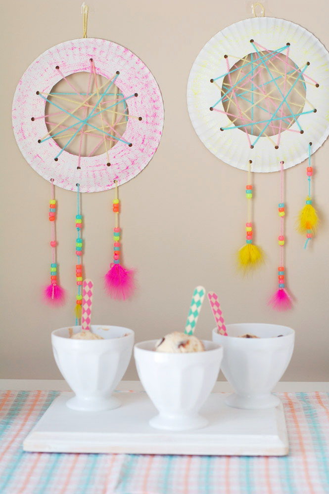 Fun Crafts For Kids Dream Catcher