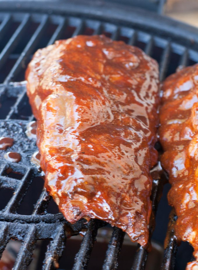Cherry Cola Grilled Ribs - Food Lovin Family