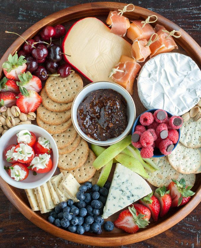 Summer Cheese Board Food Lovin Family
