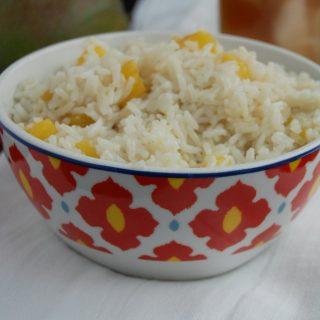 Mango Coconut Rice