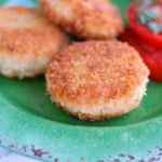 Fried chicken croquettes.