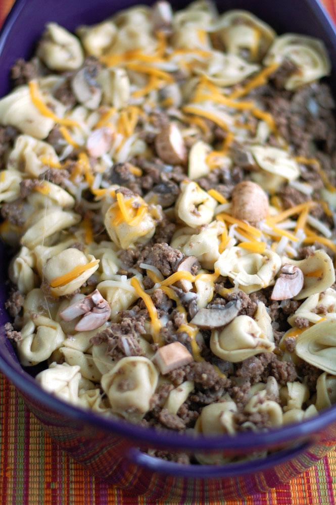 cheeseburger tortellini