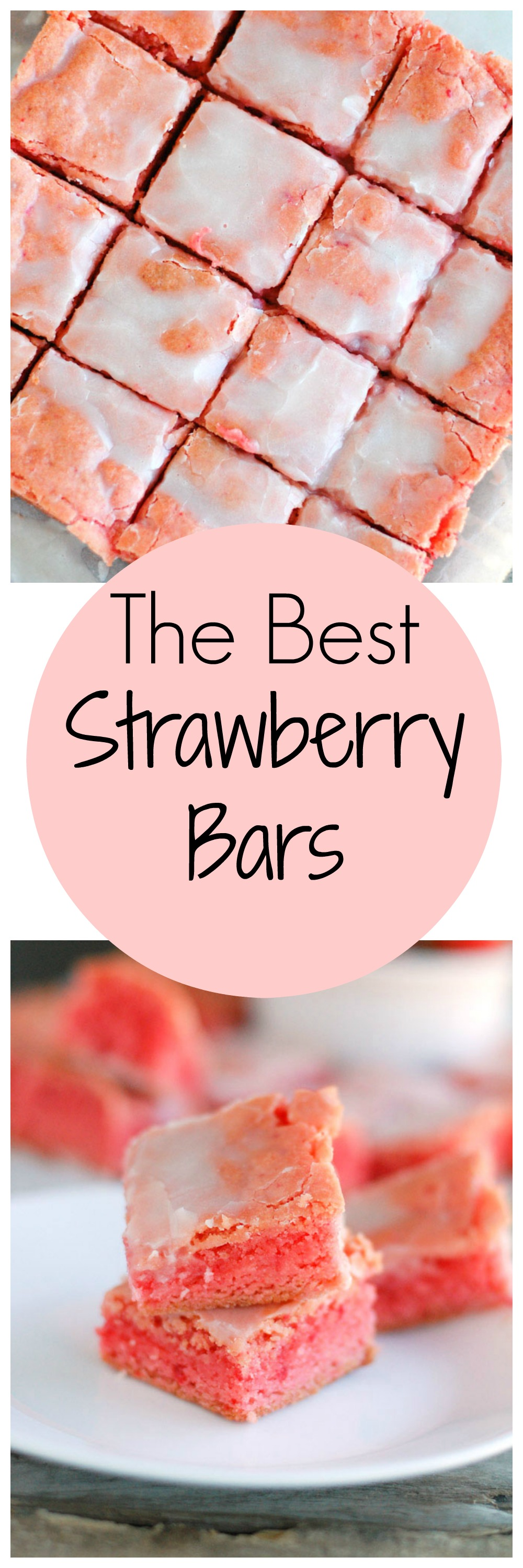 The best strawberry bars are perfect for parties and picnics. Only a few ingredients, make these super simple to make.