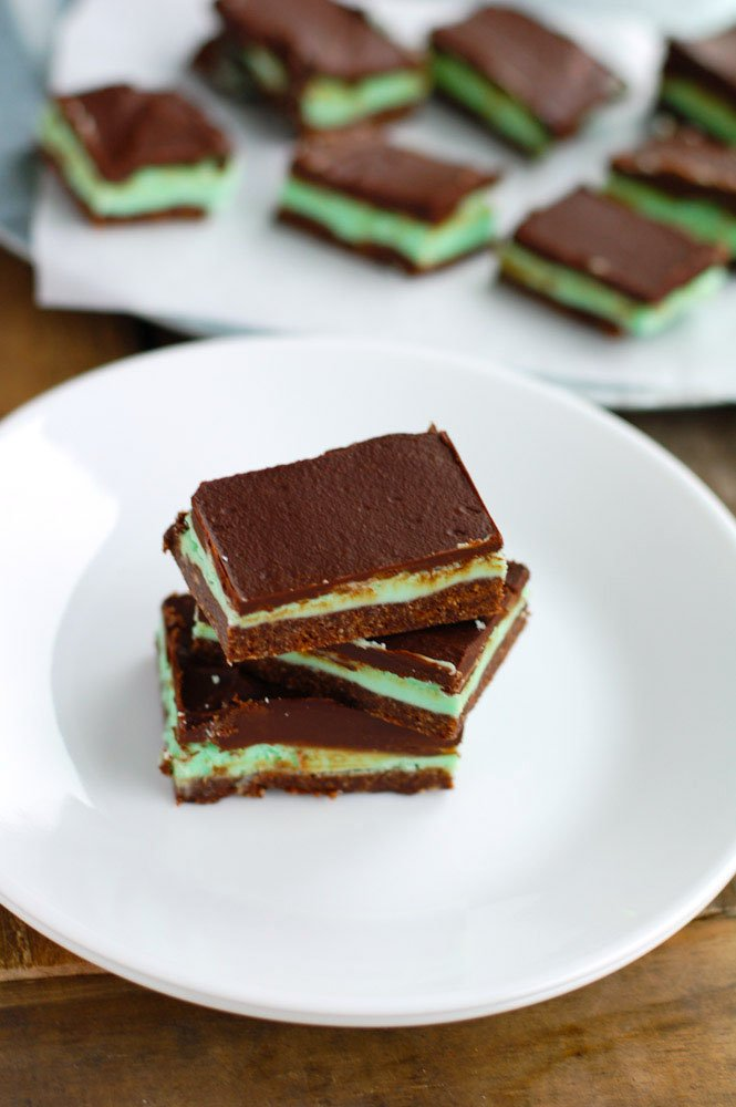 chocolate creme de menthe bars