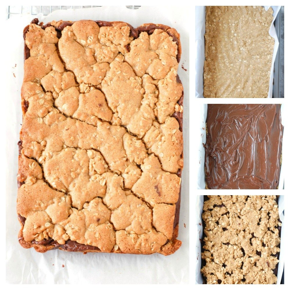 Steps to make oatmeal bars