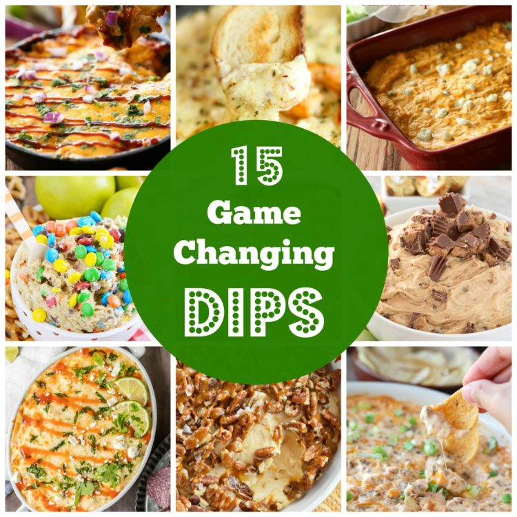 My friends and family are always asking me for suggestions on what to bring to a party. I have gathered up 15 game changing dips for your next party that everyone will love.
