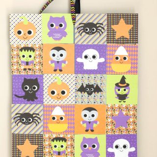 Muffin Tin Halloween Countdown Calendar