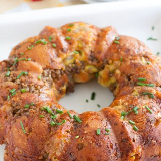 Sausage Egg and Cheese Monkey Bread