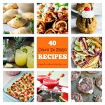 Collage of Cinco De Mayo recipes.