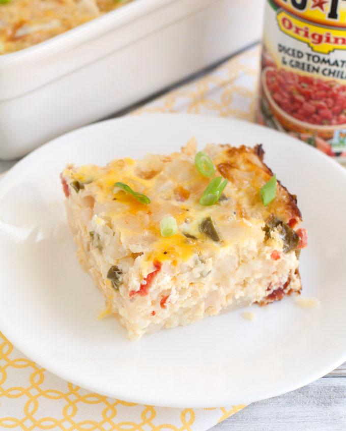 Southwestern Breakfast Casserole - Food Lovin Family