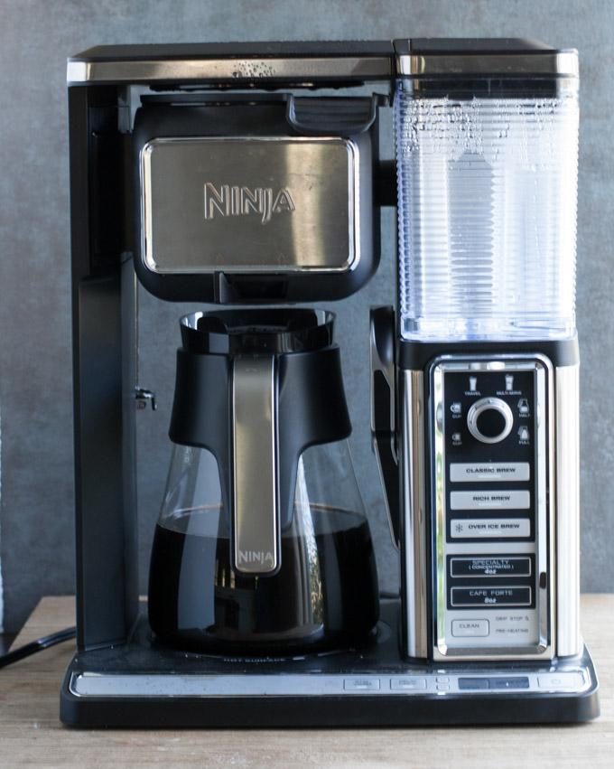 cinnamon roll latte ninja coffee bar