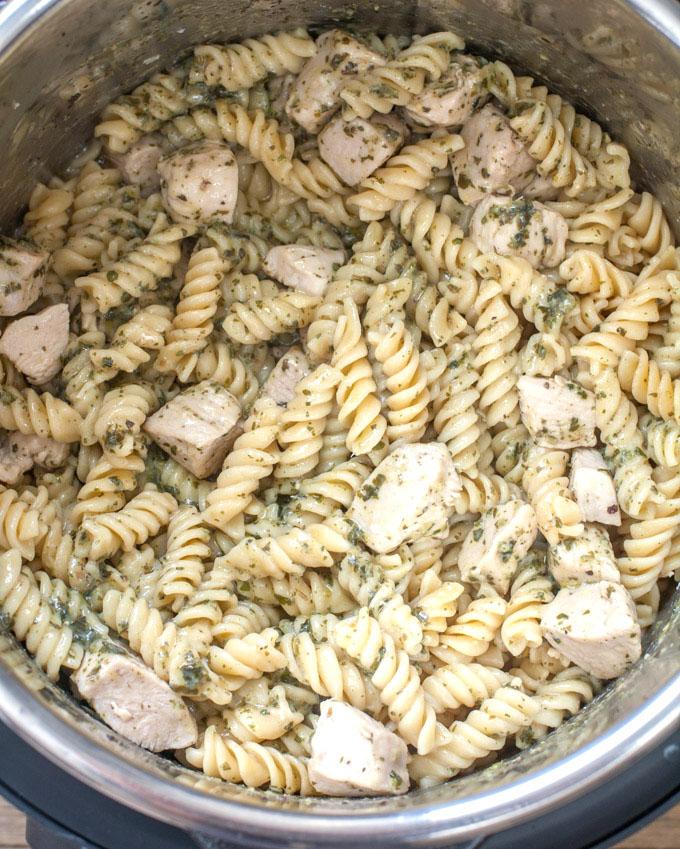 Chicken Pest Pasta Recipe
