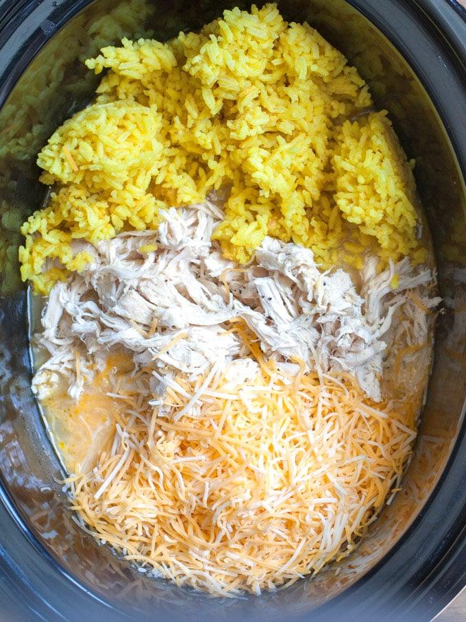 chicken and rice crockpot recipe