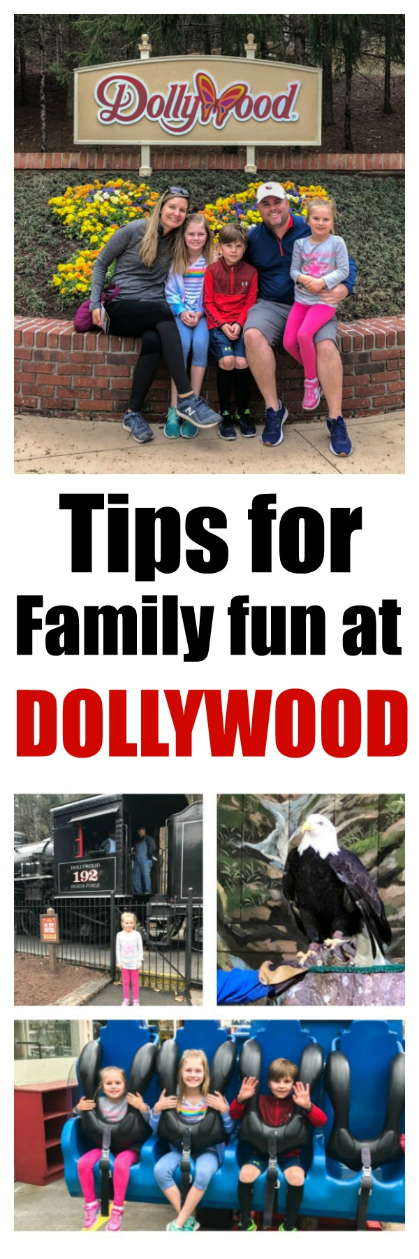 Planning a trip to Dollywood? Check out these tips on a great family vacation with information on rides, food, tickets and more! #Dollywood @Dollywood #familytravel #familyvacation #tennessee #greatsmokeymountains