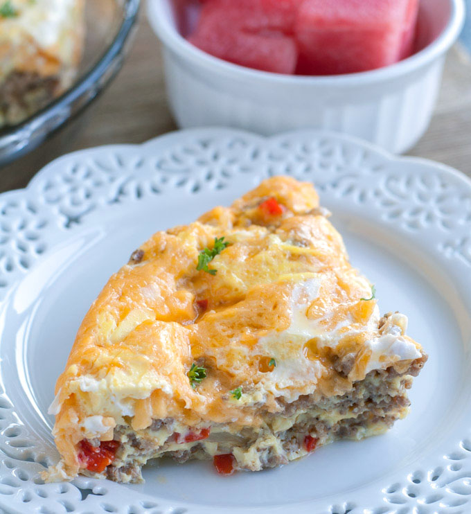 Breakfast Cassorle: Instant Pot Breakfast Casserole