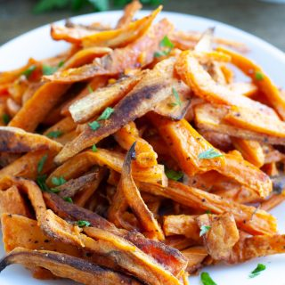 Sweet Potato Fries and Pulte Smart Homes