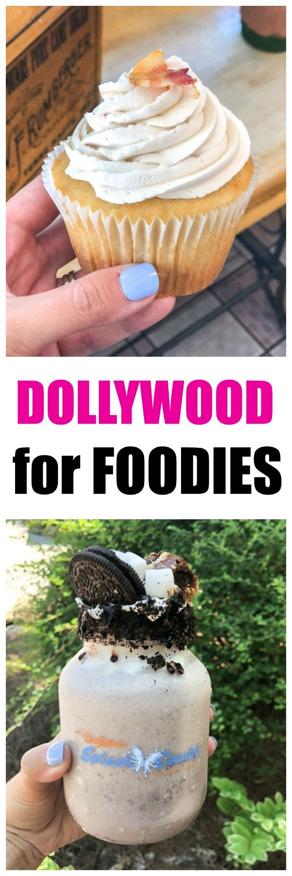 Dollywood amusement park is not only known for it's exciting rides, first class entertainment and water park but also it's award winning food. A wonderful place for foodies and families! #dollywood #familyvacation #travel #familytravel