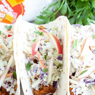 Slow Cooker BBQ Tacos
