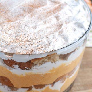 Pumpkin Chai Trifle