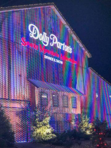 Dolly Patron's dinner show barn.