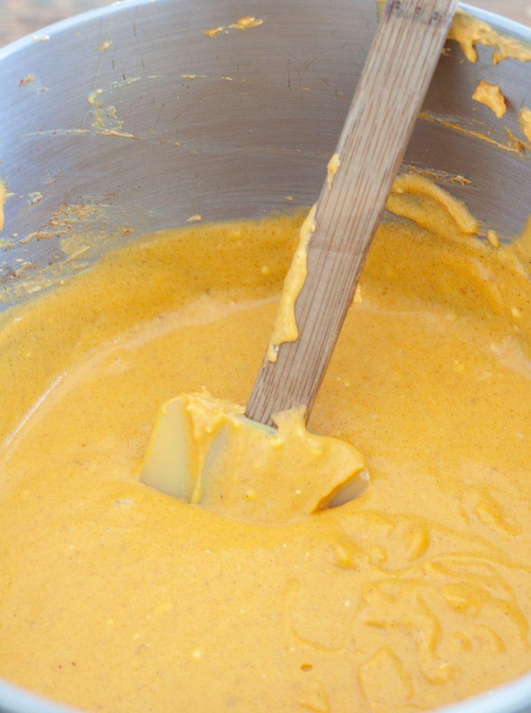 Pumpkin Cheesecake Batter