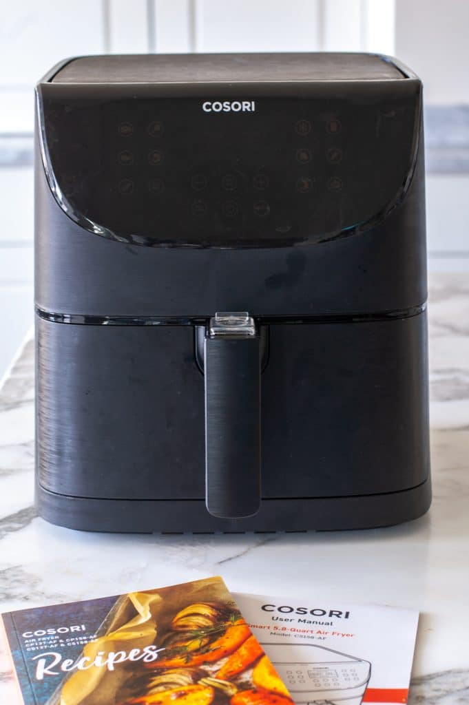 air fryer on table