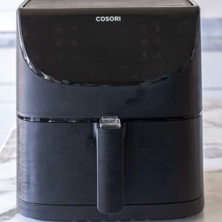 air fryer on counter