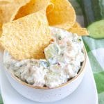 Dip with chip in the dip