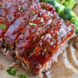 meatloaf with broccoli