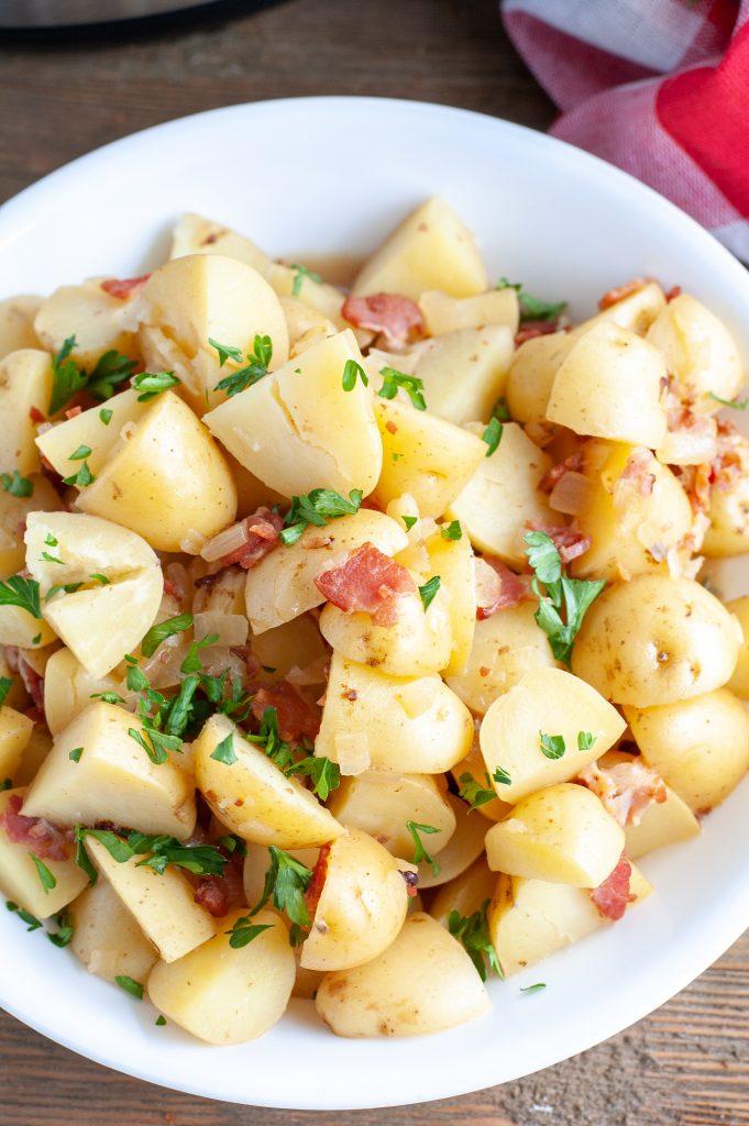 Potato Salad in a bowl.