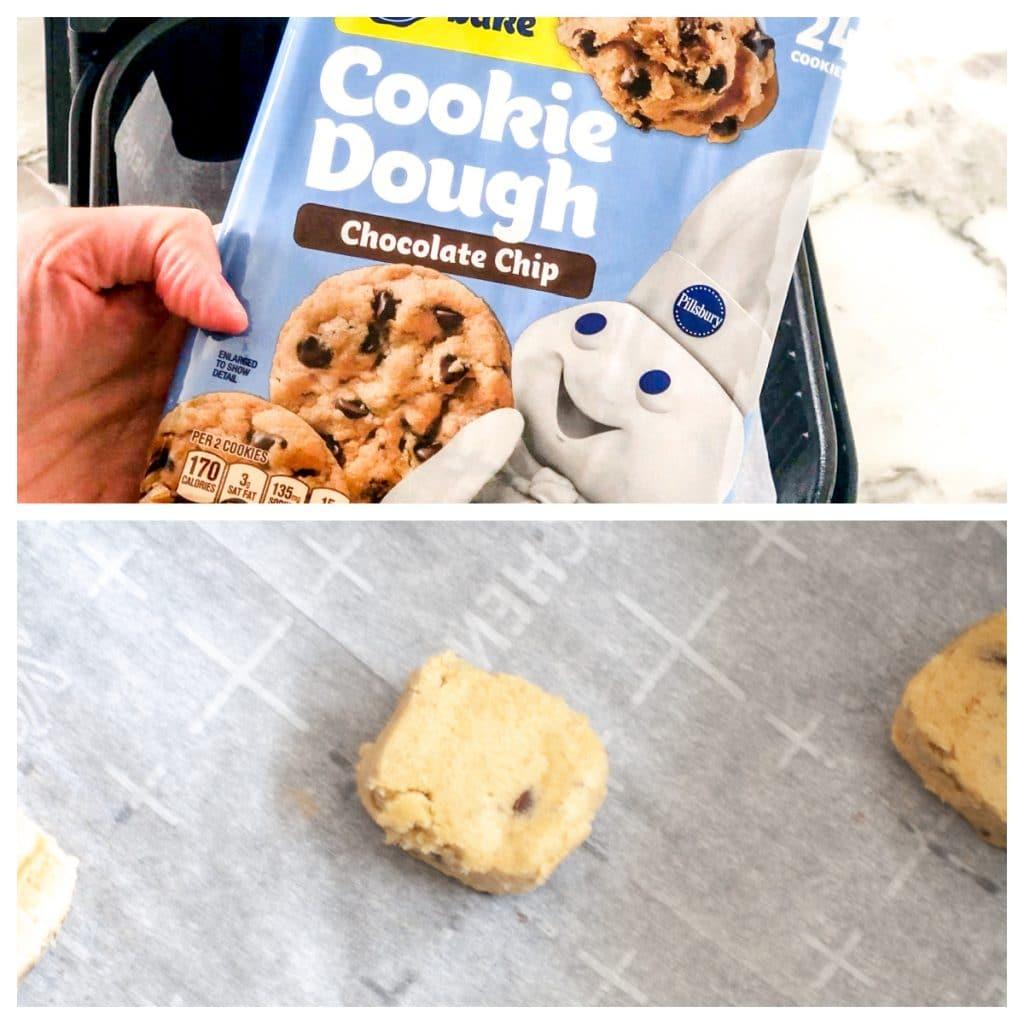 Pillsbury cookie dough.