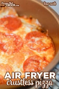 Melted cheese and pepperoni in a pan.