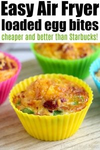 Egg muffins on plate.