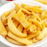 Fries in a bowl.